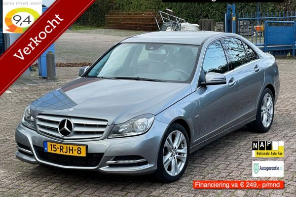 Mercedes C-klasse 200 Business Class Avantgarde aut.