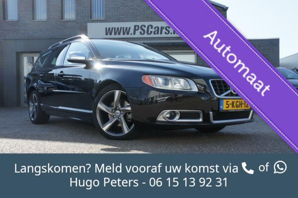 Volvo V70 1.6 T4 R-Design Autom/Cruise/Leder/Navi/Trekhaak