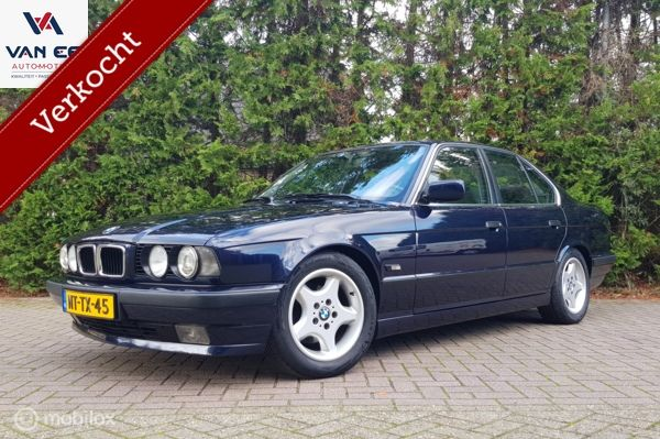 BMW 5-serie 518i Executive Edition II Org. NL | Concourstaat