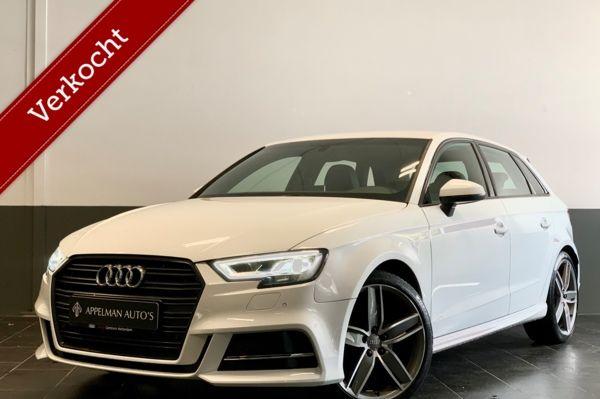 Audi A3 Sportback 1.4 TFSI CoD Sport S Line Edition | Facelift | Virtual Cockpit | Keyless | Stoelverwarming | Parkeersenoren |