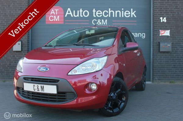 Ford Ka 1.2 Titanium X start/stop/stoelverw/elektr/airco/lm
