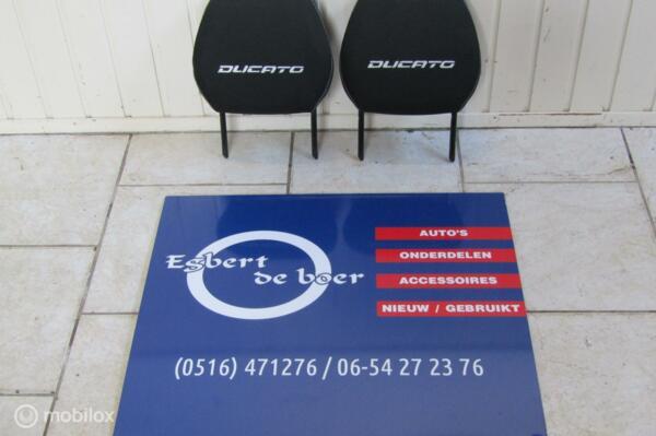Hoofdsteun stof Fiat Ducato vanaf bouwjaar  2006 t/m nu