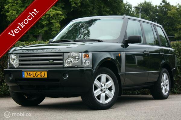 Youngtimer Range Rover 4.4 V8 | 1 eig | schuifdak | BTW-auto