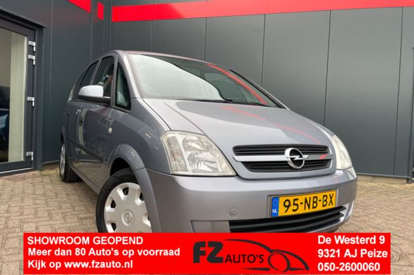 Opel Meriva 1.6-16V Enjoy | 122.779 | Airco | Hoge instap |