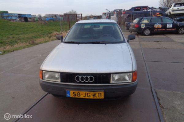 Ingekocht voor onderdelen Audi 80 B3 1.8 1986 - 1990
