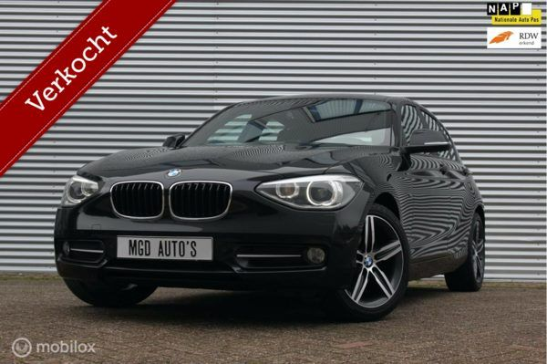 BMW 1-serie 116i Business+ Sport /XENON/LED/SPORTSTOELEN/BLUETOOTH/PDC V+A/STOELVERW!