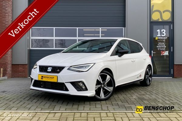 Seat Ibiza 1.0 TSI FR 115PK Carplay Cruise PDC 18 Inch LED