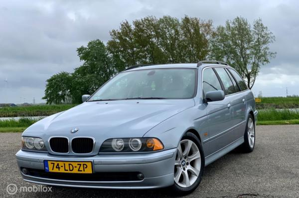 BMW 5-serie Touring 525i Edition,Facelift, Lpg, Youngtimer !