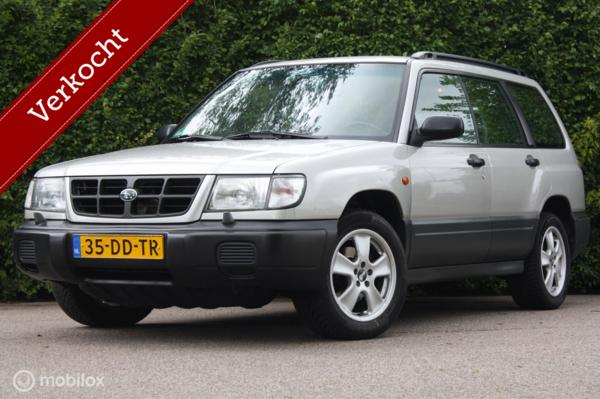 Youngtimer Subaru Forester 2.0 AWD AUTOMAAT airco/cruise/DAB