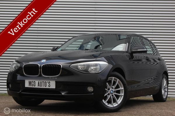 BMW 1-serie 116i Business /AIRCO/BLUETOOTH/STOELVERW./PDC!