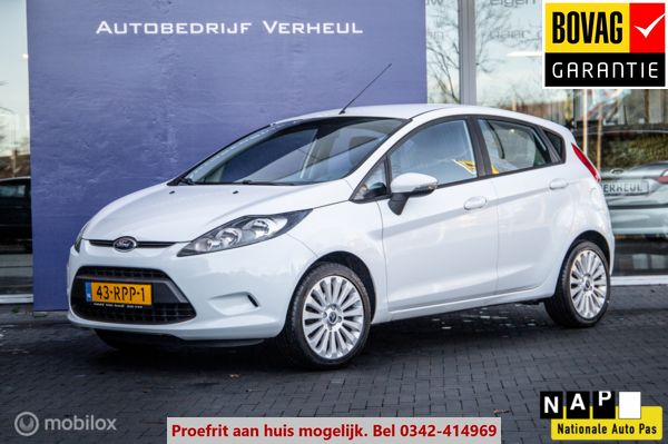 Ford Fiesta 1.25 Limited 5Drs Airco Boekjes Nap