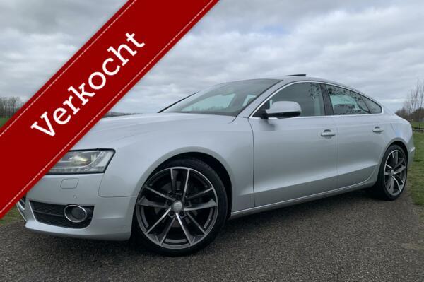Audi A5 Sportback 2.0 TFSI S-Line Automaat -Schuifdak - Xenon - Leder - Zeer Goede Staat