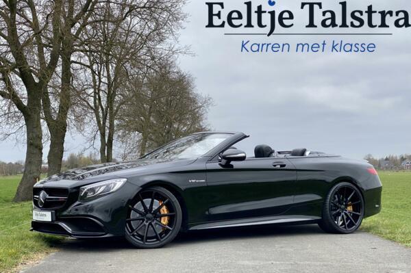 "Mercedes S65 AMG Cabrio Night pakket, carbon, 22"" Vossen etc."