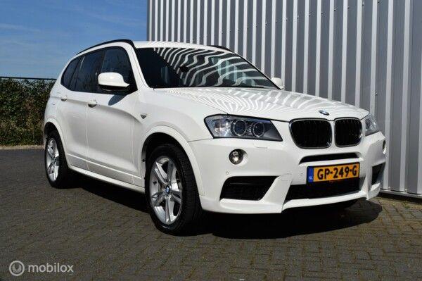BMW X3 xDrive20d High Executive M-pakket!