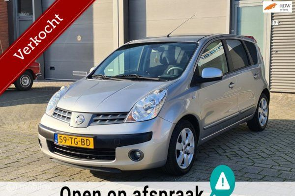 Nissan Note 1.4 First Note_Airco