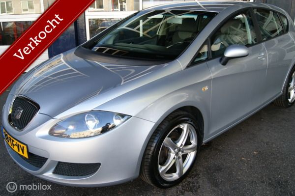 Seat Leon 1.6 Reference/Airco/NAP/ Nieuwe APK