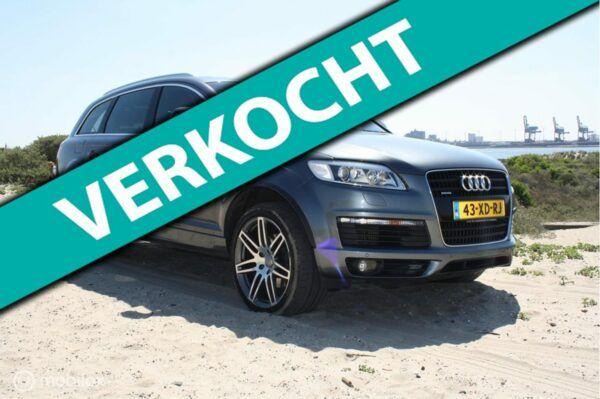 Audi Q7 - 3.0 TDI quattro Pro Line+ 5+2 S-Line panorama dak luchtvering NAP . Nederlandse auto