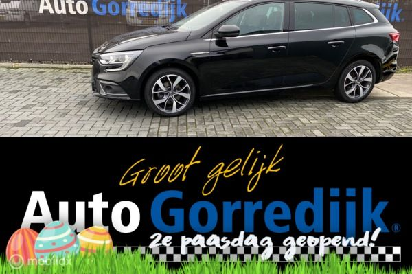 Renault Megane Estate 1.5 dCi Bose Massage Navigatie Bj 2017