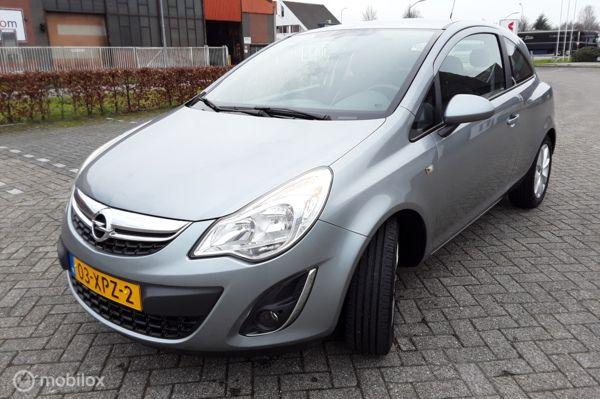 Opel Corsa 1.2 EcoFlex Cosmo LPG-G3 Navi Airco/CC Half Leder Cruise contr. Luxe uitv.