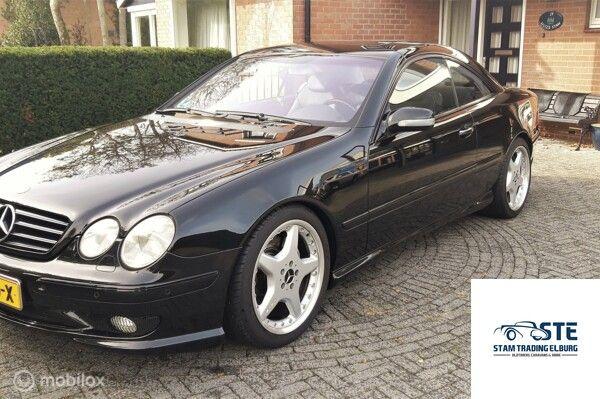 Mercedes CL-klasse 500 AMG 2001 ALLE OPTIES en org 83000 km!