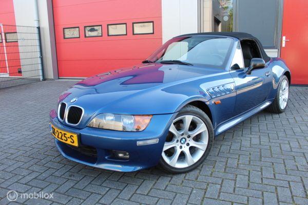 BMW Z3 Roadster - 2.0 . 6 Cil . Wide Body , Nieuwe kap , Airco , Leer