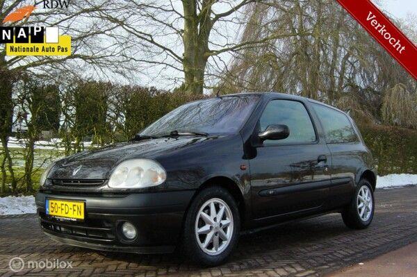 RENAULT CLIO 1.4-16V Bwj 2000  VANDAAG A.P.K IN NIEUWSTAAT !