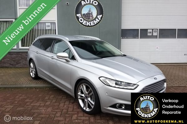 Ford Mondeo Wagon 1.5 TDCi Titanium Lease Edition, Groot navi, 19