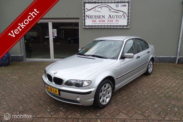 BMW 3-serie e46 316i Black & Silver NAP/Trekhaak/Nwe Ketting