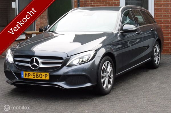 Mercedes C-klasse Estate 350E  PRIJS IS INCLUSIEF BTW, Camera, Burmester Audio