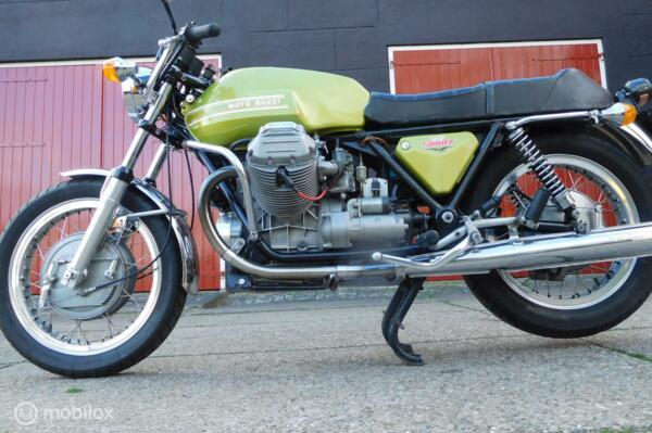 Unieke Moto Guzzi V7 Sport van de tweede eigenaar