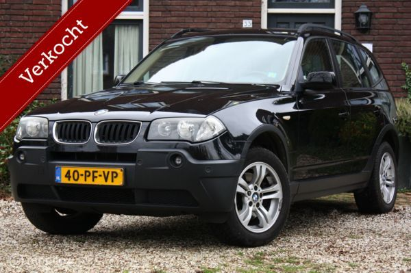 YOUNGTIMER BMW X3 3.0d AUT Executive parkeersensor/trekhaak