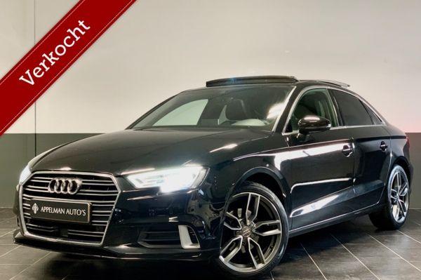 Audi A3 Limousine 2.0 TDI Design Pro Line Plus   FULL   Virtual   Camera   Pano   ACC   Keyless   Dodehoek  