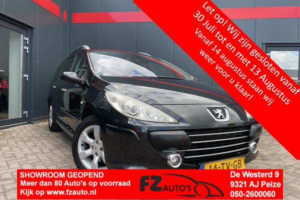 Peugeot 307 SW 1.6-16V Pack | 7 Persoon | Metallic |