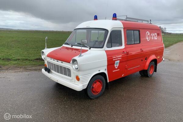 verkocht Ford Transit Mk1 1972 13500 km en als nieuw!