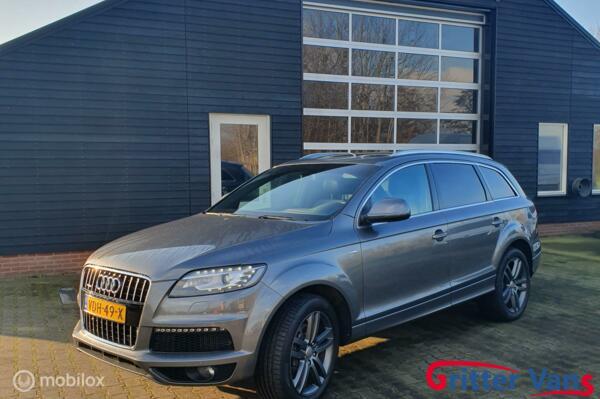 Audi q7 3.0 TDI S Line GRIJS KENTEKEN