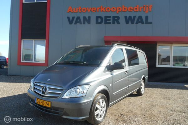 Mercedes Vito Bestel 113 CDI 320 Lang DC Luxe