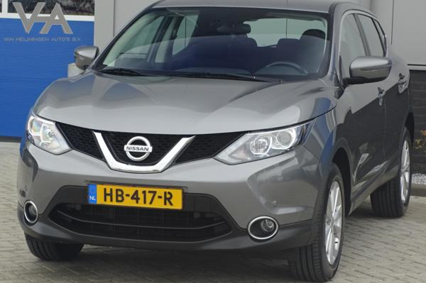 Nissan Qashqai 1.5 dCi Acenta, NL, 1 eig. PDC, clima, cruise
