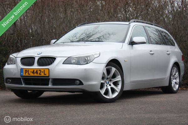 Zeer mooie BMW 523i Touring AUT High Exec panorama/trekhaak
