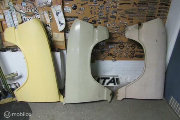Opel Kadett B spatbord, voorscherm L+R bj '68 t/m '73