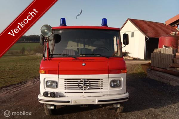 Verkocht Mercedes 409 LF Benzine Kastenwagen 9000 Kilometer