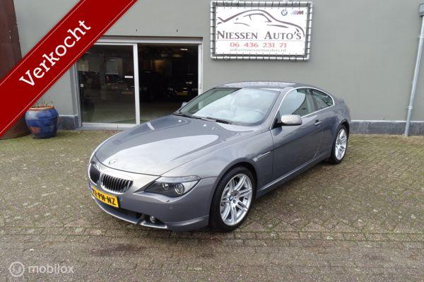 BMW 6-serie E63 645Ci Stratus Metallic Navi/Active Steering
