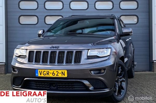 Jeep Grand Cherokee 3.0 CRD Summit Black-Line grijs kenteken