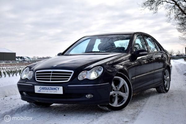 Mercedes C220 CDI Avantgarde Aut. Youngtimer/ Xenon / Leder / Climate