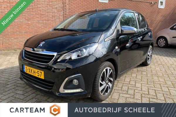 Peugeot 108 1.2 VTi Allure Top | Navi | Bluetooth | Cabrio