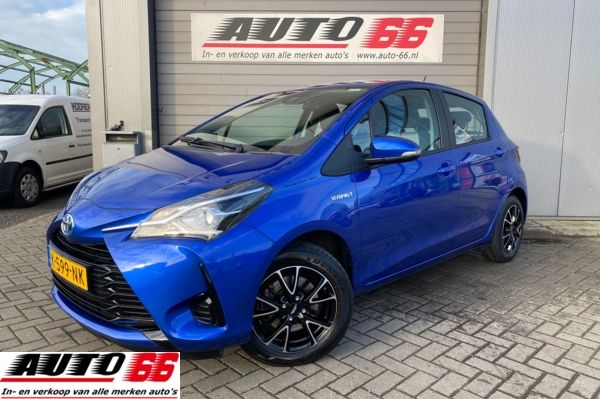 Toyota Yaris 1.5 Hybrid Camera airco stuurbedieding Automaat