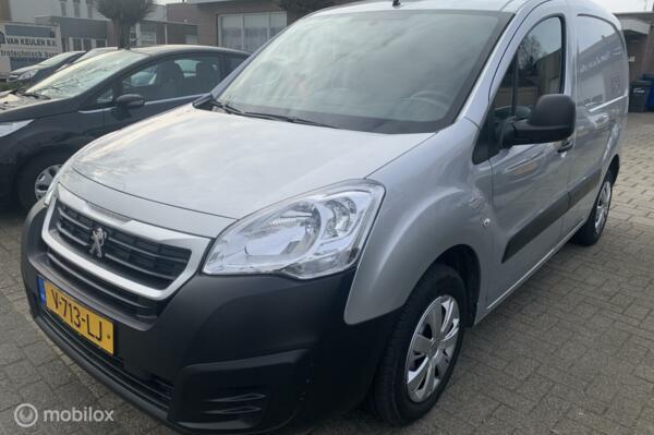 Peugeot Partner bestel 120 1.6 BlueHDi 100 L1 Pro S&S 170.DKM AIRCO 2-PERS APK 26-04-2021