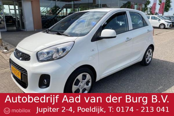 Kia Picanto 1.0 CVVT DynamicLine / Cruise controle / Bluetooth / Led verlichting / Climate controle