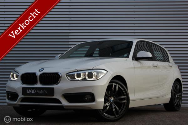 BMW 1-serie 118i Executive Automaat /XENON/LED/NAVI/18 INCH/STOELVERW./PDC V+A/CRUISE!