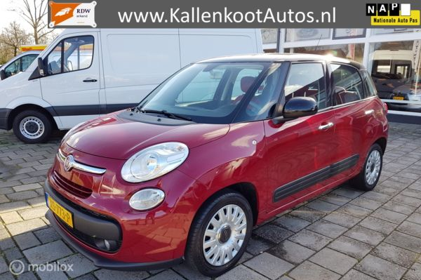 Fiat 500L 0.9 TwinAir Turbo (105 PK) Airco, Cruise, Trekhaak