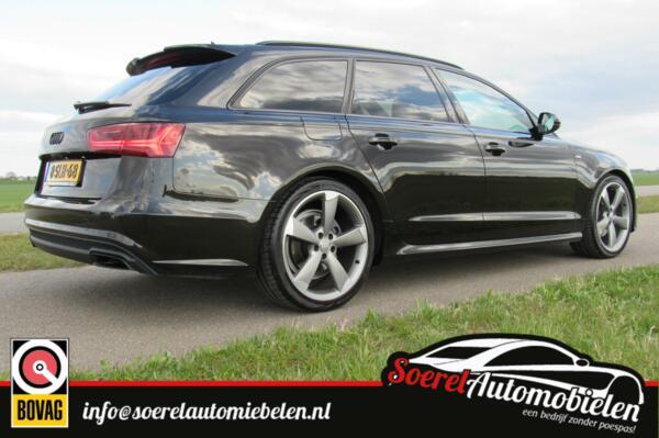 Audi A6 Avant 2.0 TDI Pro Line S, cruise, clima, 20 inch, leer 78000 euro nieuwprijs